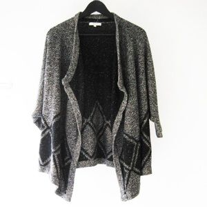 Madewell All Angles open diamond pattern cardigan
